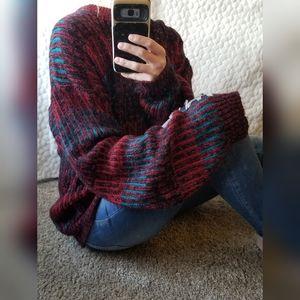 Vintage grandpa sweater oversized soft cozy knit